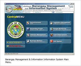 barangay information system proposal essay A management information system (mis) is a set of systems and procedures that gather data from a range of sources, compile it and present it in a readable format.